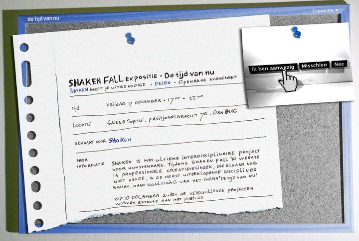 Shaken Fall 2010 expositie